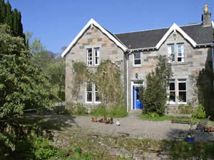 Organic Holidays - Cuildorag House Vegetarian B&B, Onich, Fort William. PH33 6SD