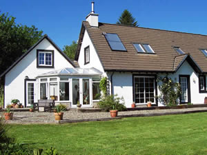 Organic Holidays - East Lodge Bed and Breakfast, Asknish, Lochgair. PA31 8SB