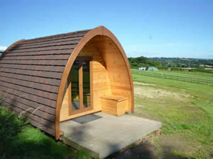 Organic Holidays - Forestside Organic Farm Camping Pods, Marchington Cliff, Uttoxeter. ST14 8NA