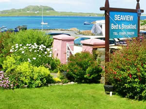 Organic Holidays - Seaview Bed and Breakfast, Fionnphort, Isle of Mull. PA66 6BL