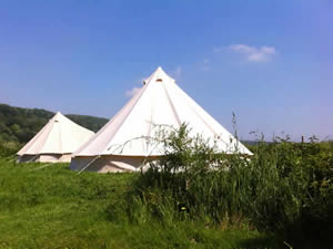 Organic Holidays - Stroud Slad Farm Camping, The Vatch, Stroud. GL6 7LE