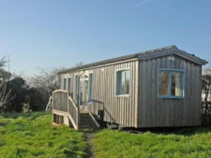 Organic Holidays - The Cabin on Glebe Organic Farm, Woodbirdshill Lane, Pitney. TA10 9AP