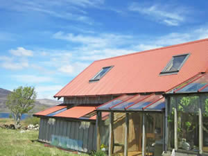 Organic Holidays - The Jam House, Leob Croft, Bunessan. PA70 6HF
