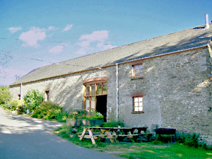 Organic Holidays - The Long Barn at Penrhiw, Penrhiw Organic Farm, Capel Dewi. SA44 4PE