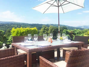 Organic Holidays - The Manor Hotel, Brecon Road, Crickhowell. NP8 1SE