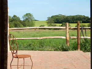 Organic Holidays - The Piggery, Hawthbush Organic Farm, Gun Hill. TN21 0JY