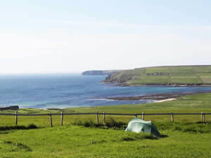 Organic Holidays - Wheems Organic Farm Camping, Eastside, South Ronaldsay. KW17 2TJ