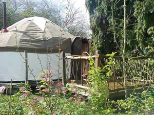 Organic Holidays - Yurts at Alde Garden, Low Road, Sweffling. IP17 2BB