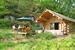 Organic Holidays - Shank Wood Log Cabin, Whitecloserigg, Longtown. CA6 5TY